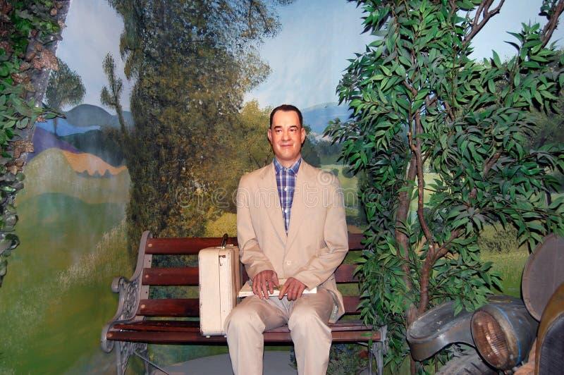 Tom Hanks las Gump zdjęcie stock