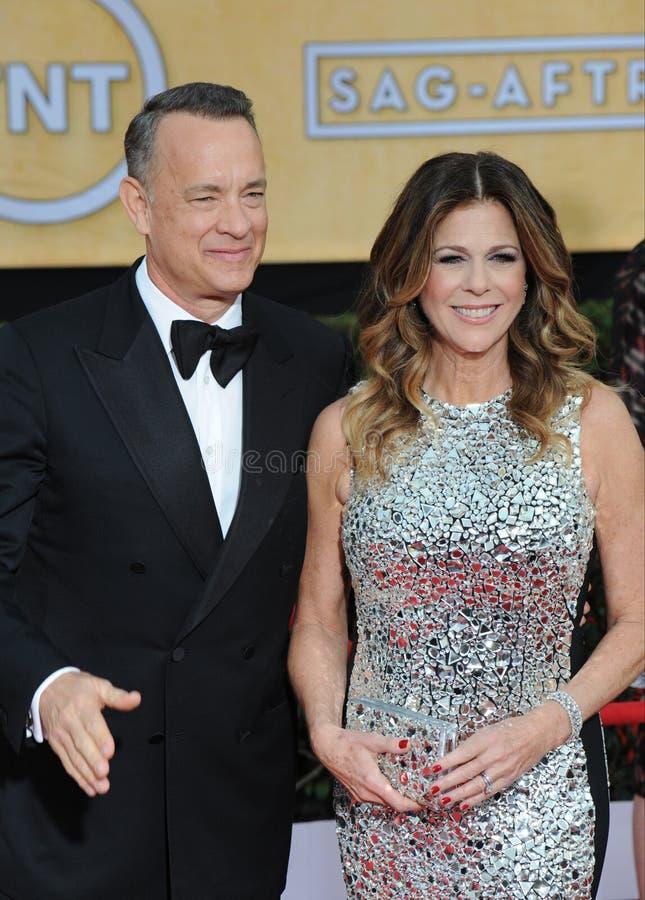 Tom Hanks Wilson & Rita zdjęcie stock