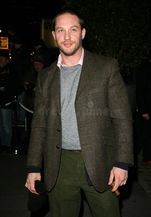 Download Tom Hardy Editorial Stock Image - Image: 22515779
