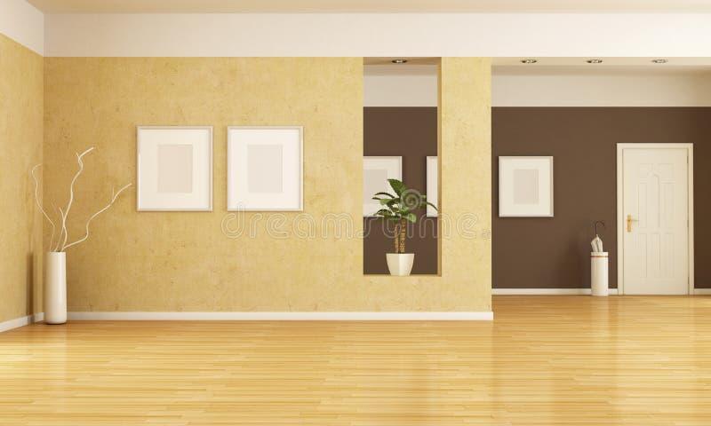 tom interior royaltyfri illustrationer