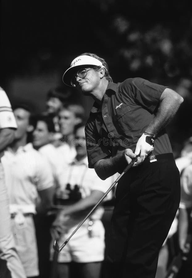 Tom Kite Golfer fotografie stock