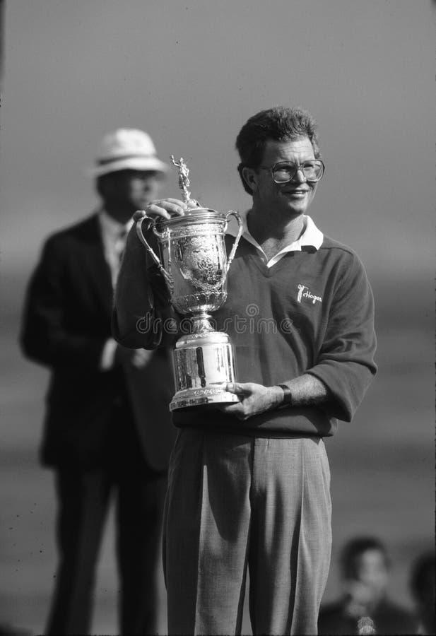 Tom Kite Golfer immagine stock libera da diritti