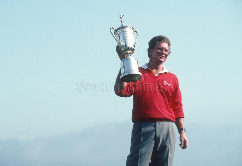 Tom Kite; Vencedor 1992 do US Open foto de stock royalty free