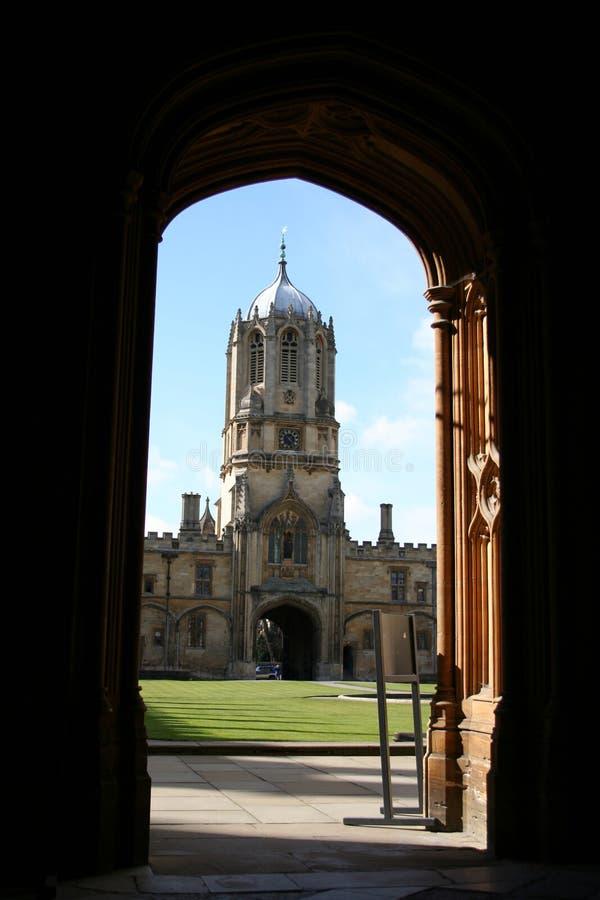Tom-Kontrollturm Oxford lizenzfreies stockbild