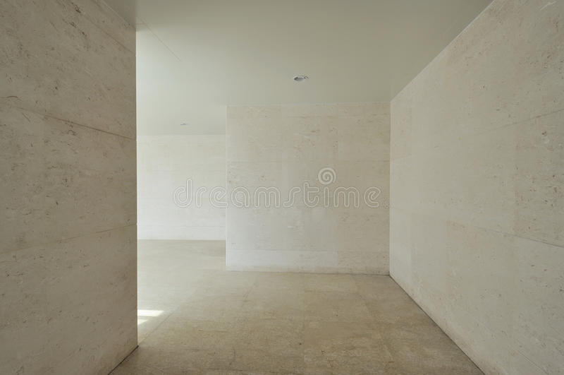 tom korridor arkivfoton
