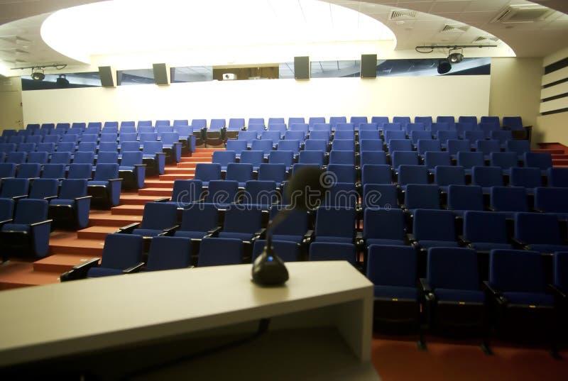 tom korridor för konferens royaltyfri foto