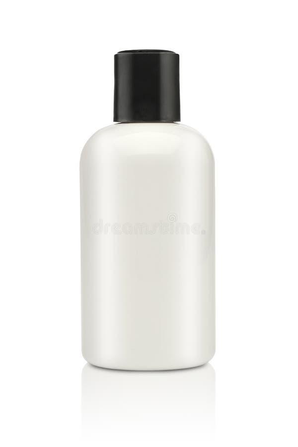 Tom kosmetisk produkt som isoleras över en vit royaltyfri foto
