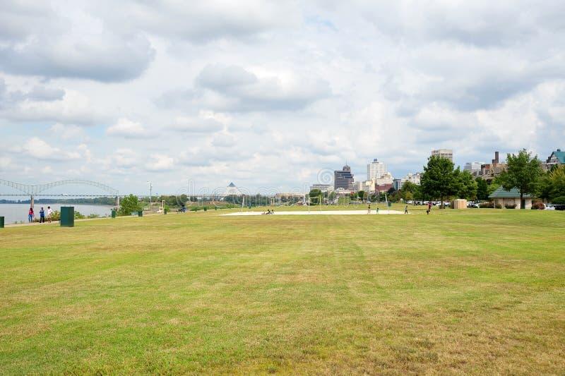 Tom Lee Park Downtown Memphis, Tennessee photo libre de droits