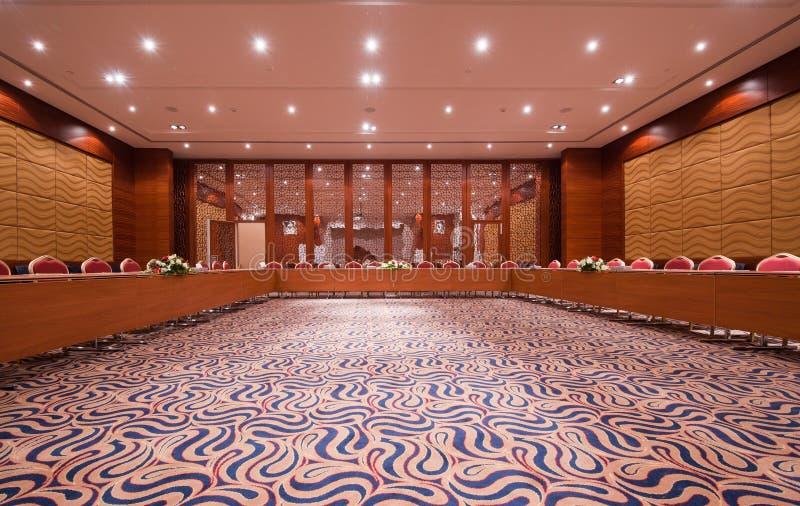 tom lokal för konferens royaltyfri bild