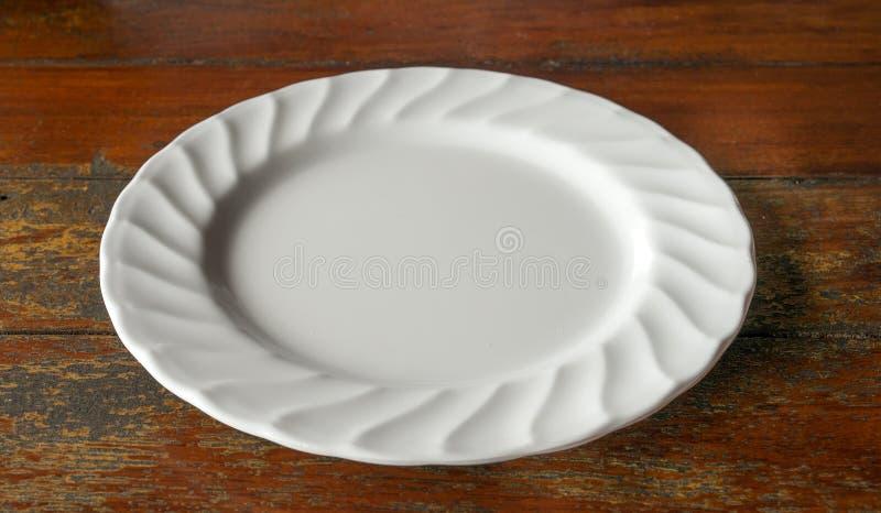 Download Tom maträtt arkivfoto. Bild av vitt, tabell, äta, gott - 78728186