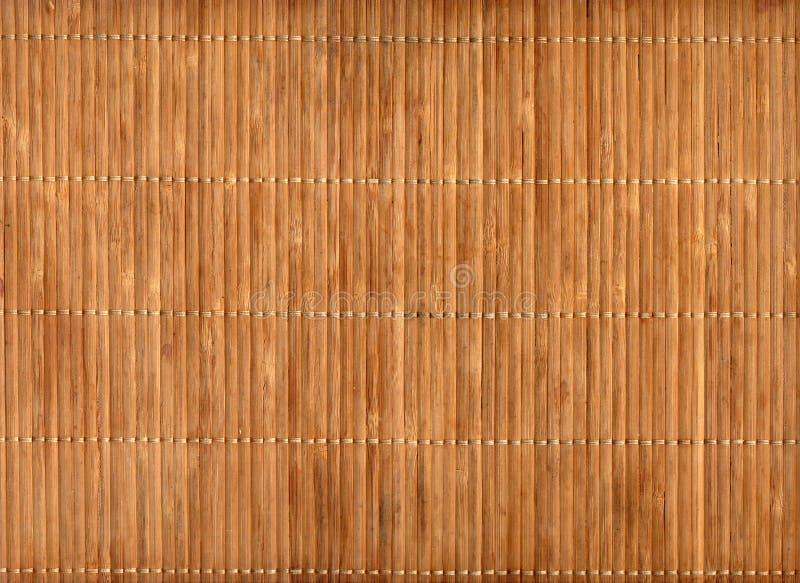 tom matt tabell för bambu fotografering för bildbyråer