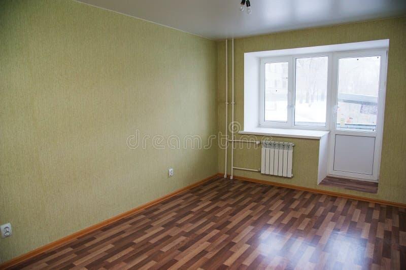 tom ny lokal för lägenhet royaltyfri fotografi