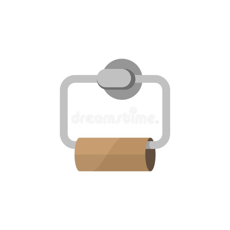 tom paper toalett arkivfoton