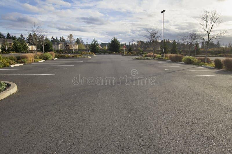 Tom parkeringsplats royaltyfri fotografi