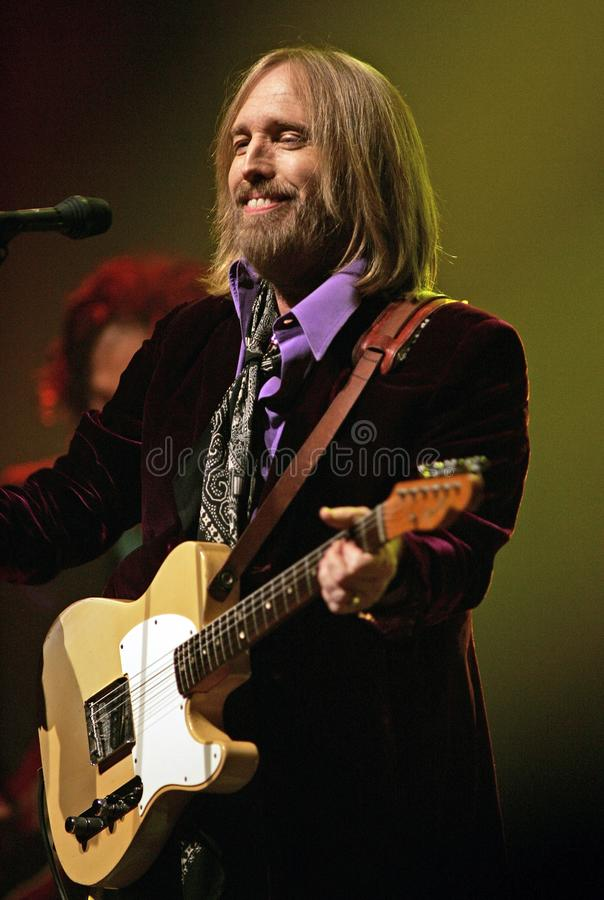 Tom Petty Performs de concert photos stock