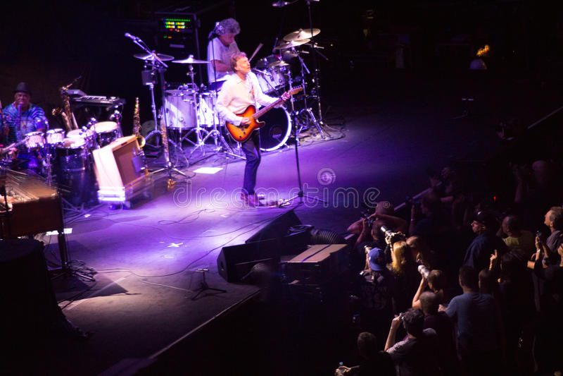 Tom Petty und die Heartbreakers stockfotografie