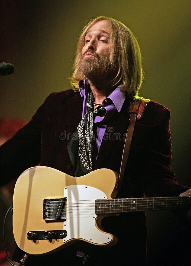 Tom Petty Wykonuje w koncercie zdjęcia royalty free