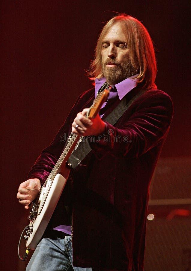 Tom Petty Wykonuje w koncercie obraz royalty free
