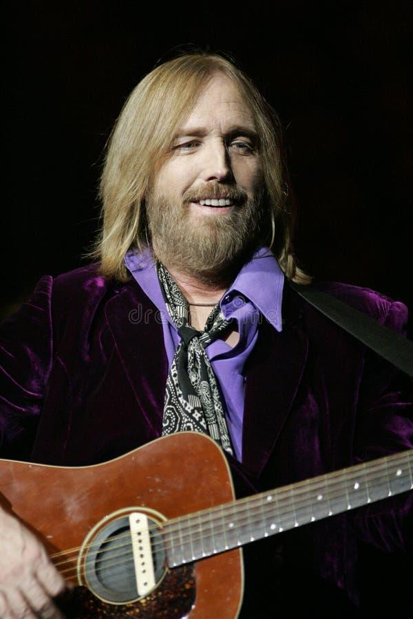 Tom Petty Wykonuje w koncercie obrazy stock