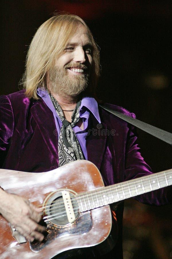 Tom Petty Wykonuje w koncercie obrazy royalty free