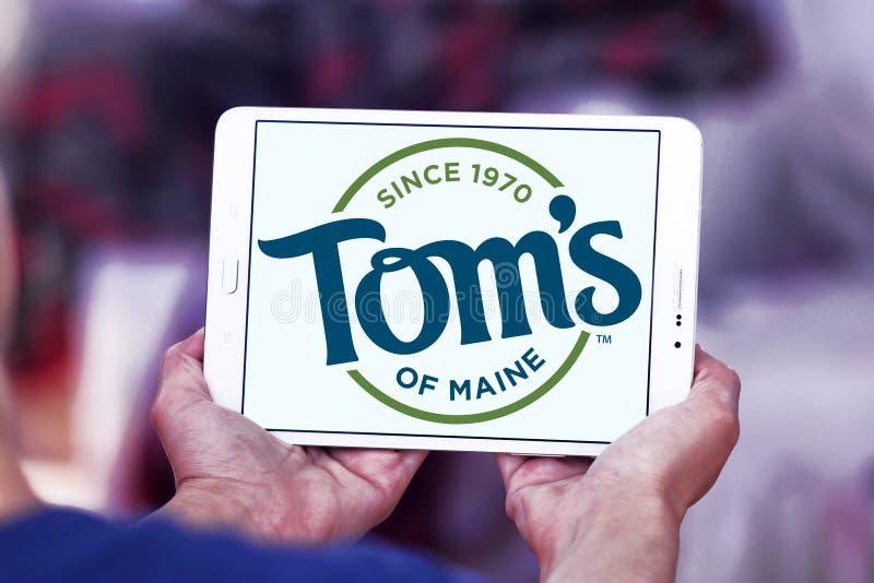 Tom ` s van Maine-embleem royalty-vrije stock afbeelding