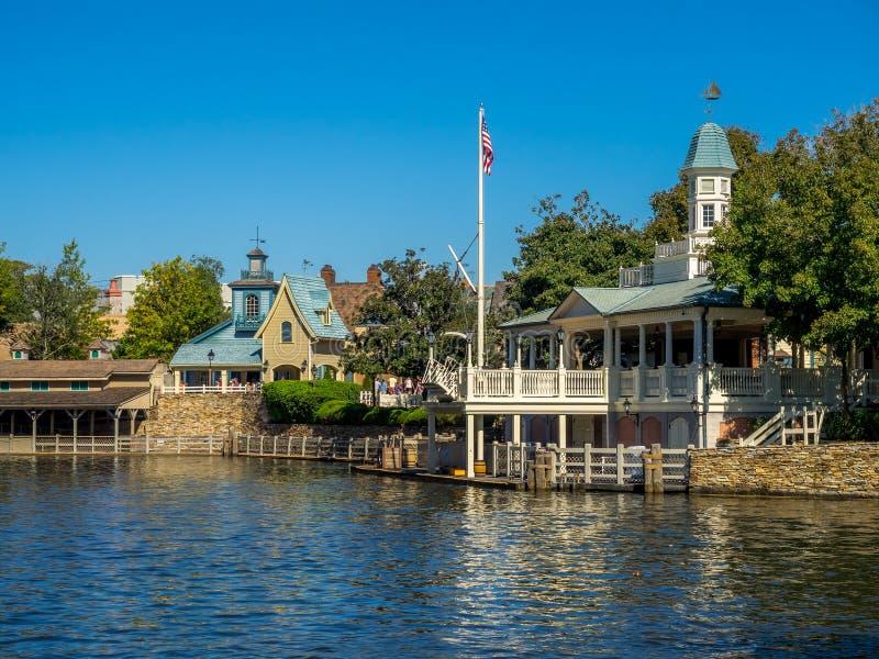 Tom Sawyer Island, Disney-Welt stockfoto