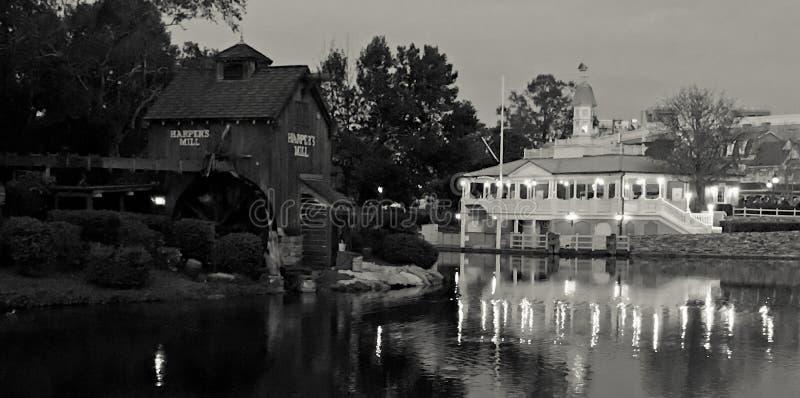 Tom Sawyer Island på den Disney världen, Orlando, FL royaltyfri bild