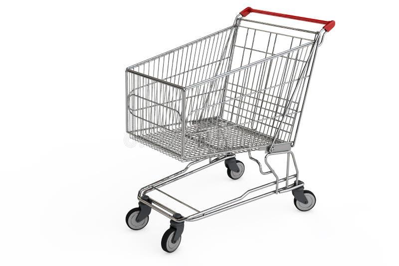 tom shopping för vagn vektor illustrationer