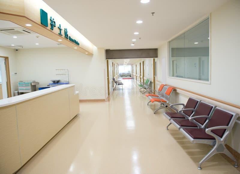 Tom sjuksköterskastation fotografering för bildbyråer