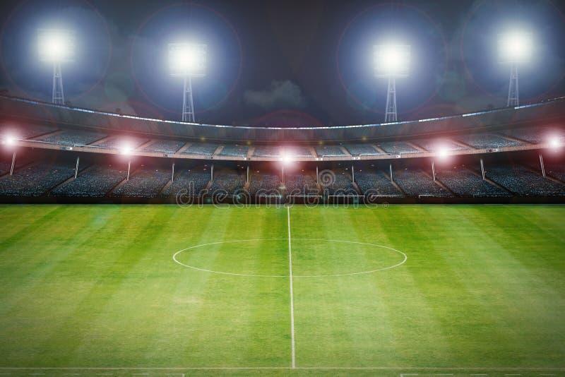 tom stadion stock illustrationer