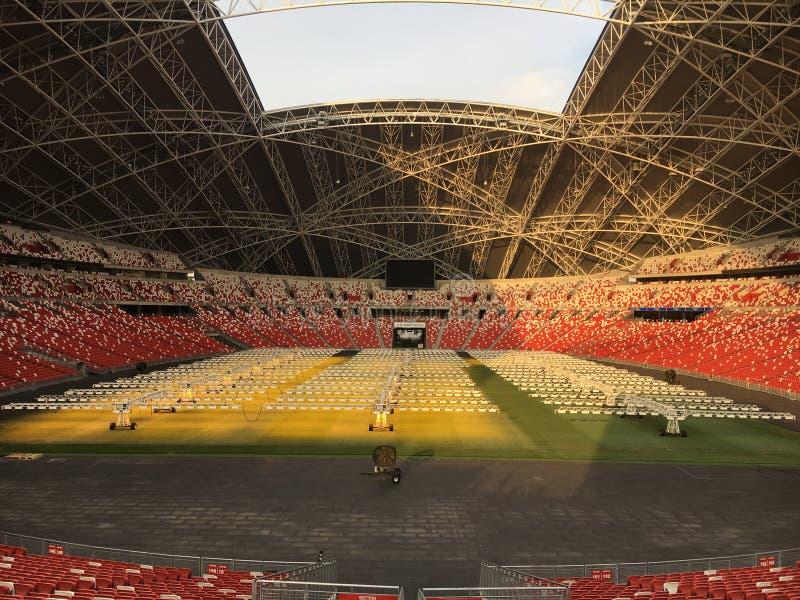 tom stadion royaltyfri foto