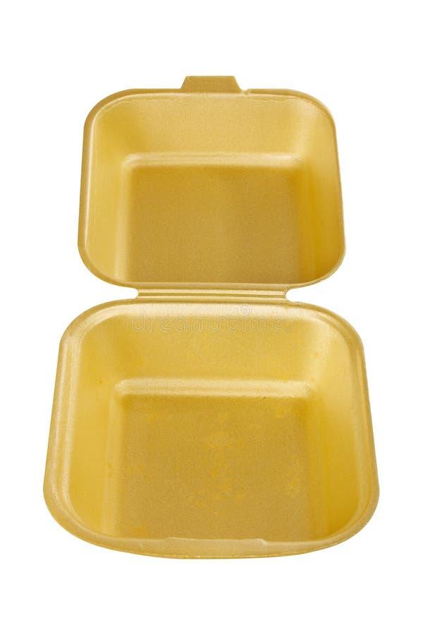 tom styrofoam för behållare arkivfoton