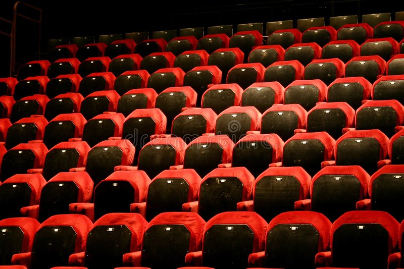 Download Tom teater arkivfoto. Bild av studio, sammet, placering - 287240
