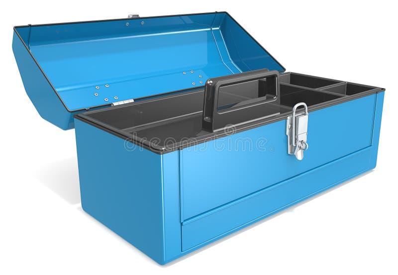 tom toolbox royaltyfri illustrationer