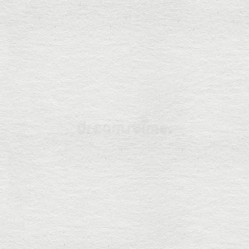 Tom vit som hand-göras pappers- bakgrund Sömlös fyrkantig textur, arkivfoton