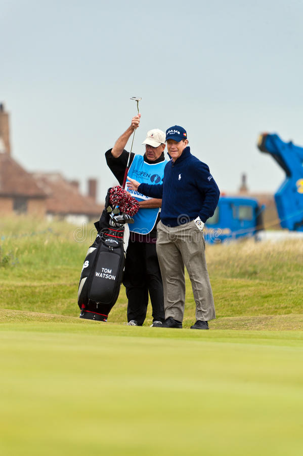 Download Tom Watson  At The 2011 Open Editorial Stock Image - Image: 20309964