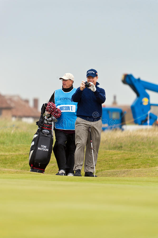 Download Tom Watson  At The 2011 Open Editorial Stock Image - Image: 20309989