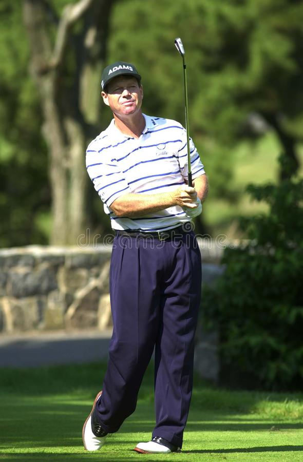 Tom Watson. Is an American professional golfer on the PGA Tour Champions, formerly on the PGA Tour. In the 1970s and 1980s, Watson was one of the leading royalty free stock photo