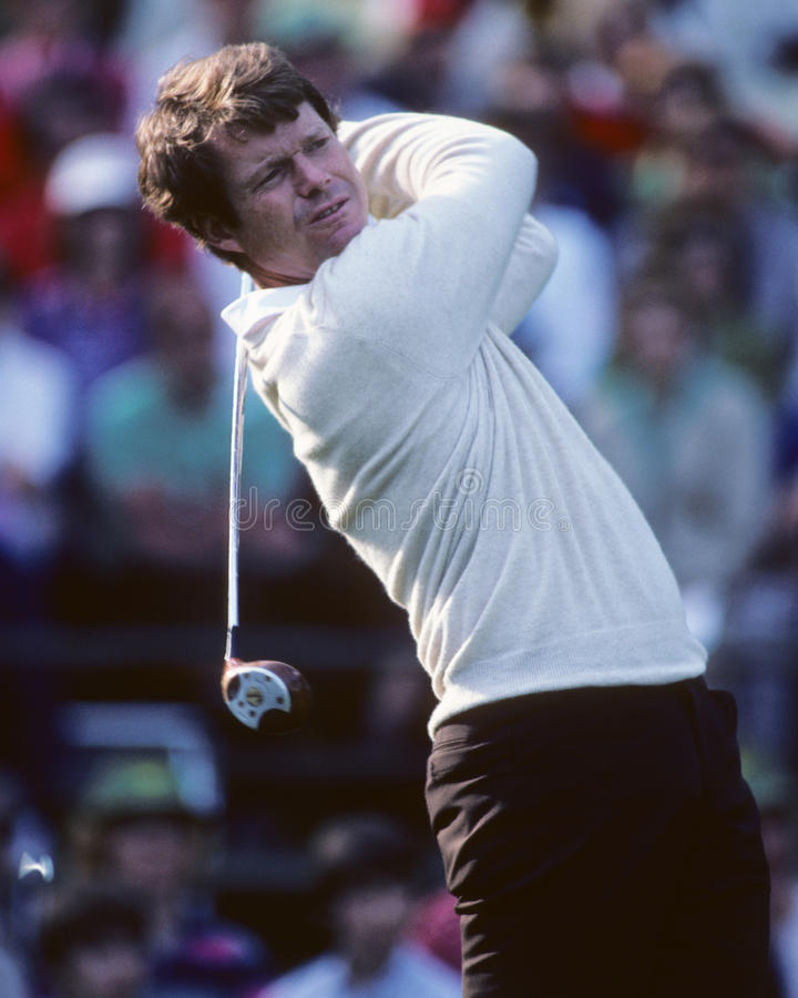 Tom Watson. Men's golf legend Tom Watson. (Image taken from color slide stock photos