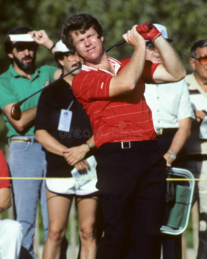 Tom Watson. Men's golf legend Tom Watson. (Image taken from color slide stock photo
