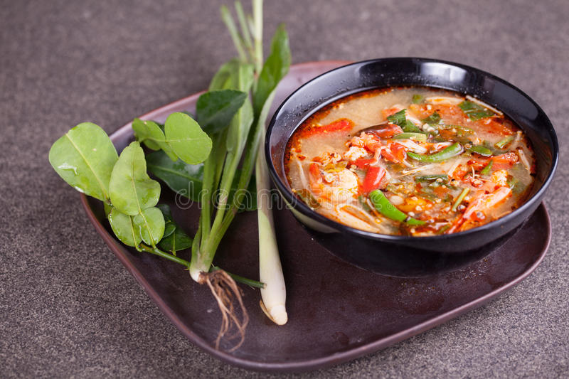 Tom yam Koong royalty free stock images