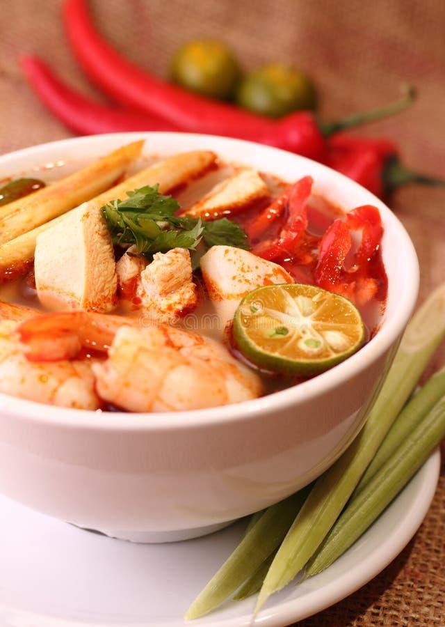 Tom Yam Soup lizenzfreie stockbilder