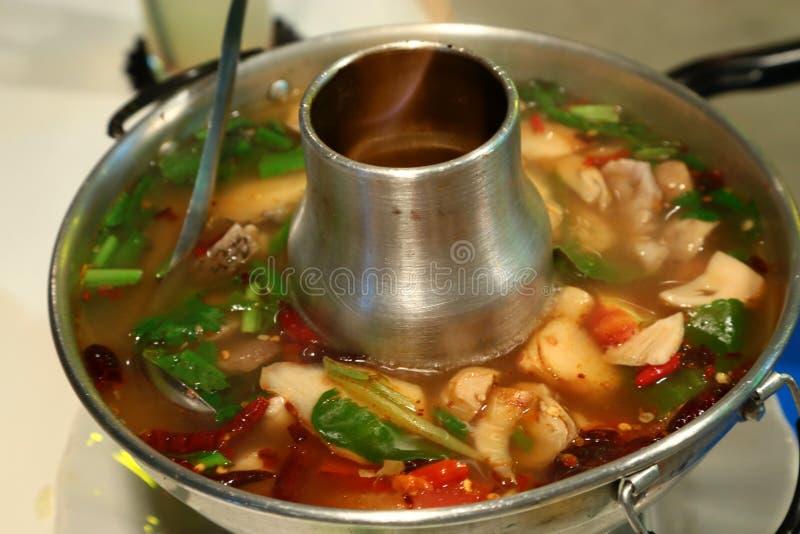 Tom Yum/alimento tailandese immagini stock libere da diritti