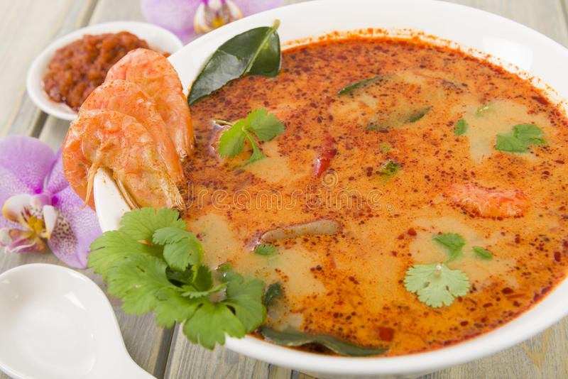 Tom Yum Goong immagine stock