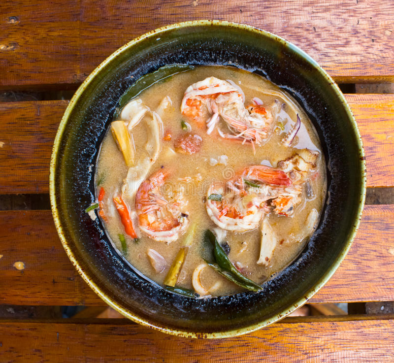 Download Tom Yum Goong  With Shrimp. Stock Photo - Image: 25948276