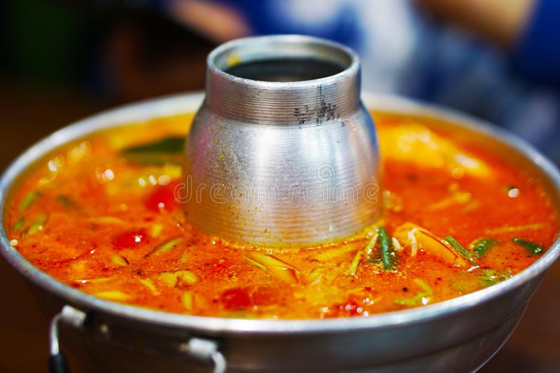 Tom Yum Koong royalty free stock images