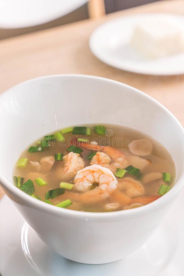 Tom Yum Kung: Alimento simbolico tailandese fotografie stock