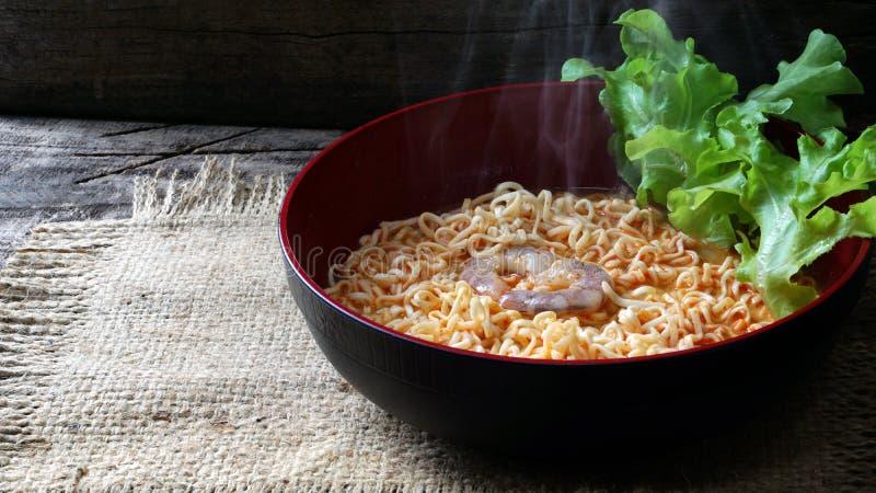 Tom Yum Kung Noodle imagem de stock royalty free