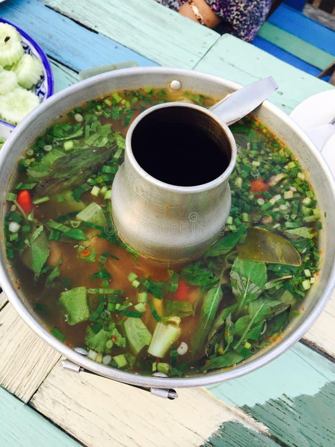Tom Yum Soup stock foto's