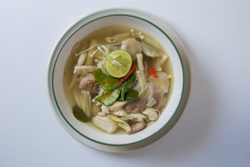 Tom Yum Thai Food royaltyfri foto